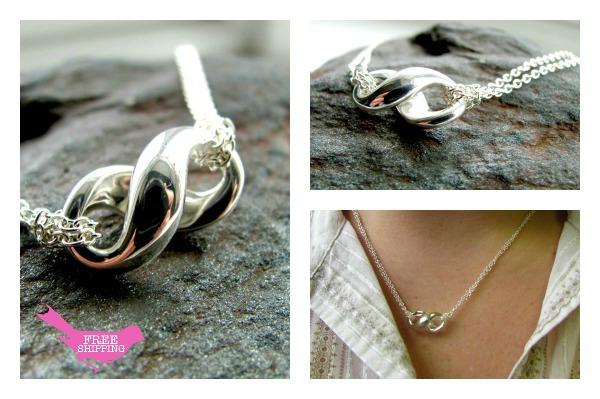 Tiffany Inspired Infinity Necklace Tiffany Inspired Infinity