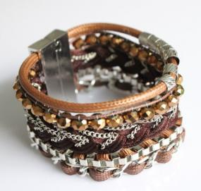 Golden Copper Hipanema Bracelet