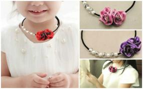 Little Girls Necklace with Safety Feature