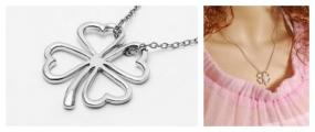 Silver Shamrock Necklace