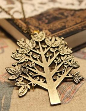 Bronze Tree Necklace...Free Shipping!!