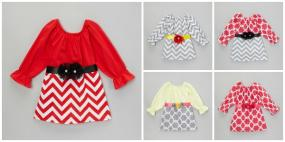 Fun Spring Dresses for Little Girls