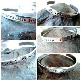 Personalized Bracelets $12.99 Shipped!
