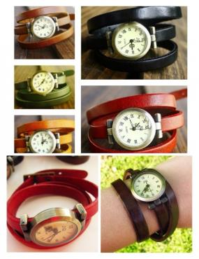 Leather Triple Wrap Watches ..FREE SHIPPING!