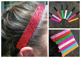 Sparkly Sports Headbands 5 for $15...FREE SHIPPING