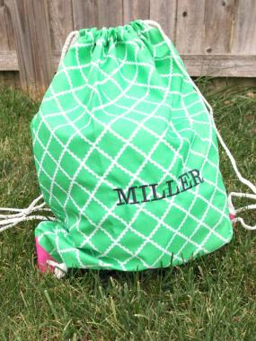 Spring Personalized Gym Bag!