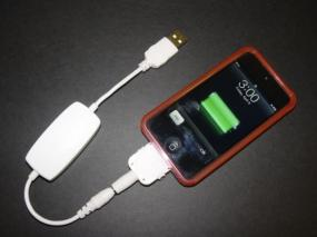 Emergency USB backup battery for Cell Phone, GPS, iPod iTouch & all USB devices : Cinch CP055