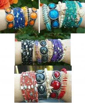 BLOWOUT SALE! Stack Bracelets $1.99 ea.