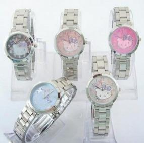Stainless Steel Kitty Watch