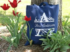 Teacher Tote Bags - End of School Year Gifts