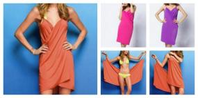 CLOSEOUT~Victoria Secret Inspired Swim Cover Up