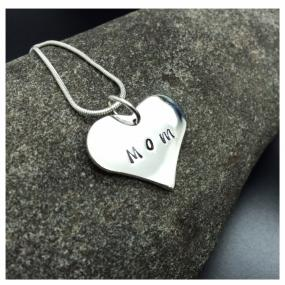 Mother's Day......Silver Heart Necklace