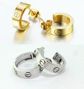 Cartier Inspired Love Earrings