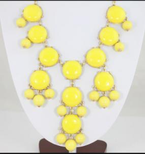 Bubble Statement Necklaces 6 Colors