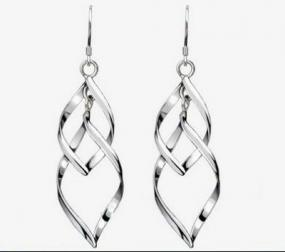 CLOSEOUT!!! Free GIFT with Purchase! Soothing Wave Earrings