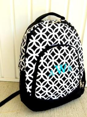 Monogrammed Backpack for Girls!