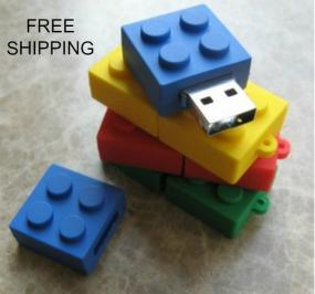 8 GB Building Block Flash Drive with 2 FREE Stylus....Free Shipping