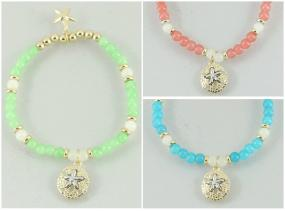 CLOSEOUT!!  Luminous Starfish Bracelet