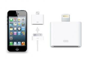 Set of 3 iPhone 4 to iPhone 5 Adapters