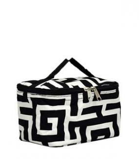 Greek Key Cosmetic Pouch.....FREE SHIPPING