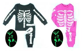 Glow in the Dark Halloween Pajamas for Girls and Boys