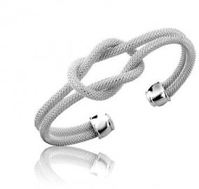Tiffany Inspired Love Knot Cuff.... FREE SHIPPING