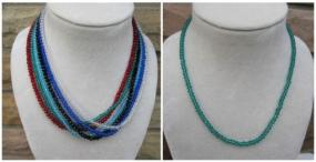 Sparkly Swarovski Beads Necklaces - 6 colors - Any 2 for $10 with $1 Shipping