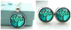 Tree of Life Pendant and Earring Set....Free Ship