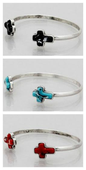 Cross Tip Bangle