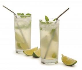 Set of 5 Stainless Steel Straws....Free Shipping