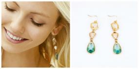 Elegant Crystal Teardrop Earrings