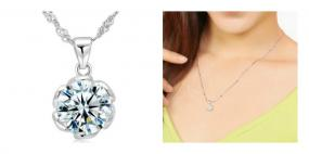 LAST CHANCE! Dazzling Swarovski Crystal Flower Pendant Necklace