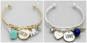 Themed Charm Cuff Bracelets.....FREE SHIPPING