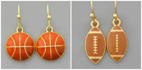 Fall Sports Collection Earrings...FREE SHIPPING