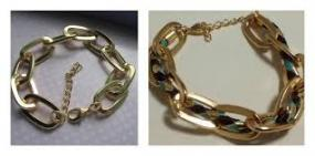 Oval Chain Links Bracelet - 2 styles & 2 for $8.99