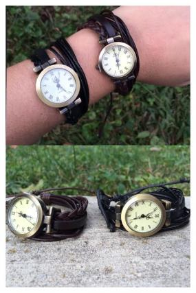 Leather Wrap Watch.....FREE SHIPPING
