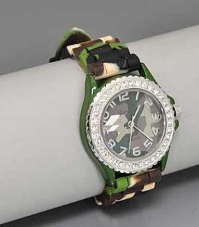 CLOSEOUT......Camouflage Watch ...... FREE SHIPPING