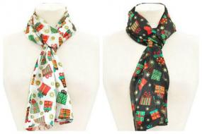 Fun Holiday Scarf- Free Shipping