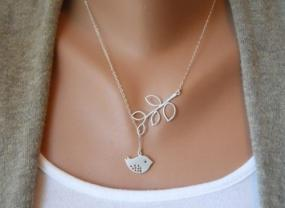 Limited Stock...Sweet Bird and Branch Dangling Necklace