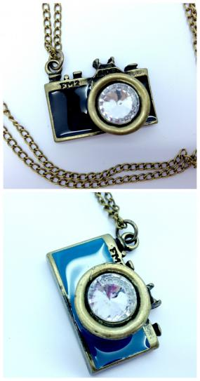 LIMITED STOCK.....Snap Shot Necklace....FREE SHIPPING
