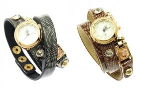CLOSEOUT....Ladies Wrap Around Watch.....FREE SHIPPING