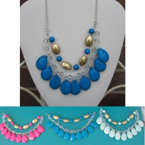 Cascade Tear Drop Necklace - Set of any 3 for $9.50