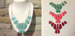 Modern Style Bib Necklaces - Any 2 for $9