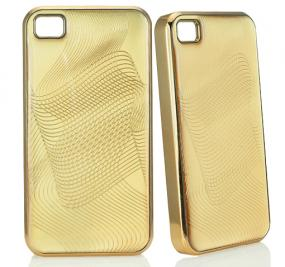 24k Yellow Gold Plated Iphone Case 4/4S
