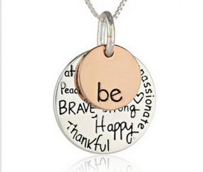 Inspirational Born to BE Necklace.....FREE SHIPPING