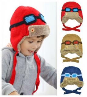 CLOSEOUT......Adorable Kids Aviator Hat