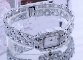 Woman's Crystal Pave Wristwatch....FREE SHIPPING