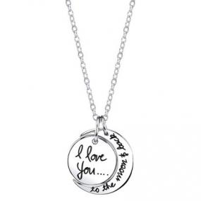 Love You to the Moon and Back Necklace...FREE SHIPPING!