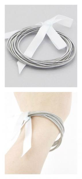 Spring Wire Stackable Bracelets......FREE SHIPPING