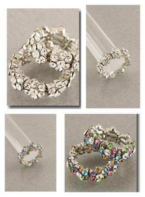 Stretch Fit Floral Ring......FREE SHIPPING